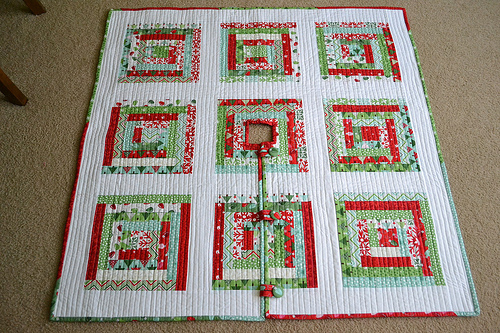 Lori H. Designs tree skirt