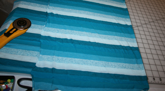 infinity scarf, step 2