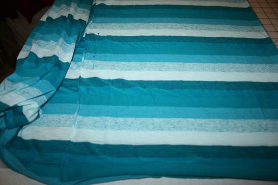 infinity scarf, step 3