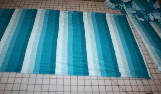 infinity scarf, step 4