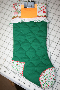 unfinished stocking