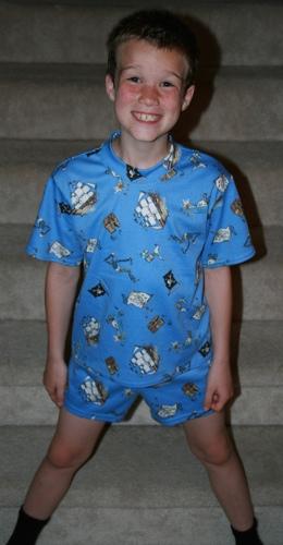 Kwik Sew 2302 boys pajamas