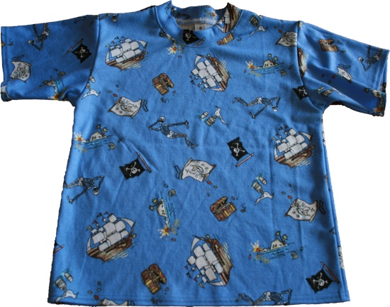 Kwik Sew 2302 boys pajama top