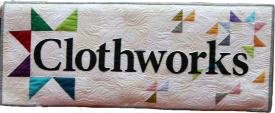 Sewing Mamas Blog: Clothworks booth at Spring Quilt Market