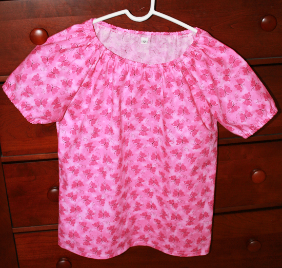 Sewing Mamas Blog: Kwik Sew 3169 - Girl's Peasant Top Pattern