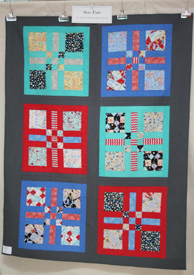 Sewing Mamas Blog: Clothworks Sew Fun at Spring Quilt Market