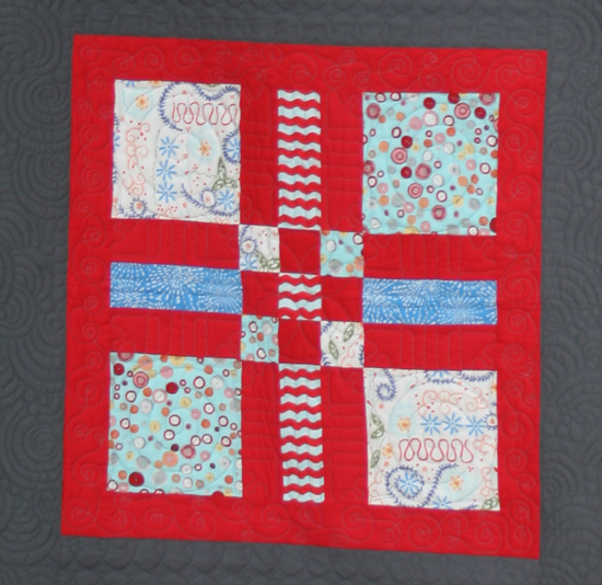 Sewing Mamas Blog: Clothworks Sew Fun block 2 at Spring Quilt Market
