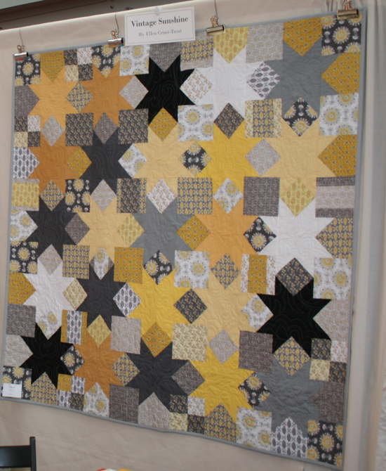 Sewing Mamas Blog: Clothworks Vintage Sunshine at Spring Quilt Market