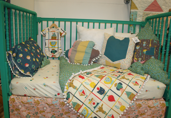 Birch Fabrics - toddler bedding