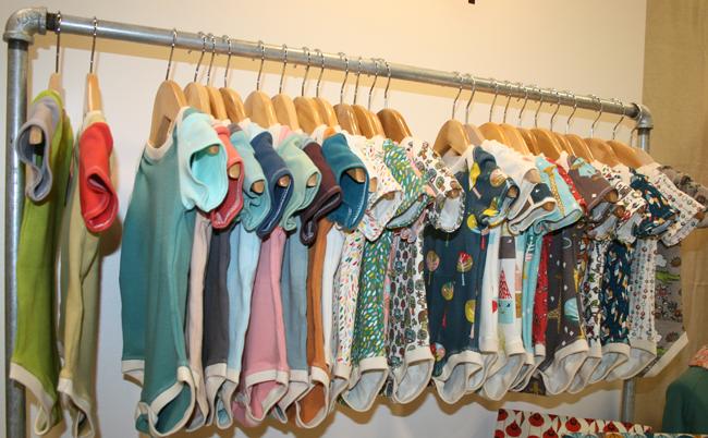 Birch Organic Knit Fabrics Onesies