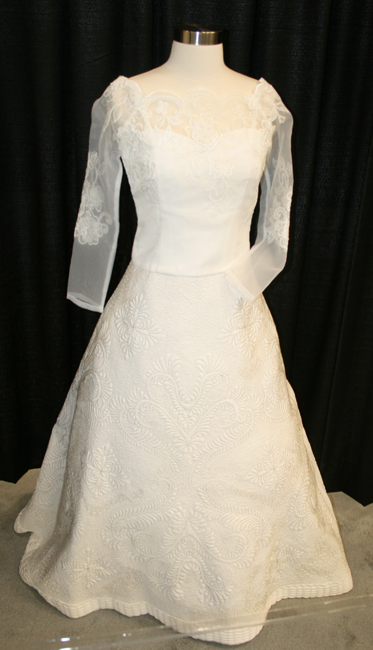 Happy Wedding Quilted Dress