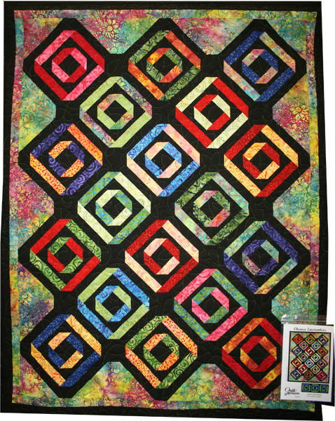 Chance Encounters Quilt in Anthology Fabrics