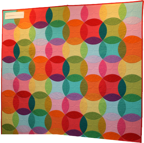 Over the Rainbow Quilt Pattern - with Cotton Couture Solids from Michael Miller Fabrics