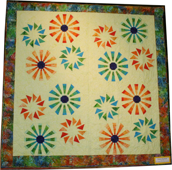 Prairie Pinwheels Quilt with Anthology Fabrics
