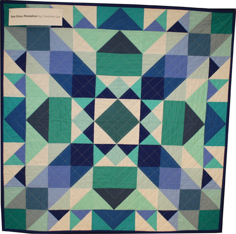 Sea Glass Medallion Quilt - Michael Miller Fabrics