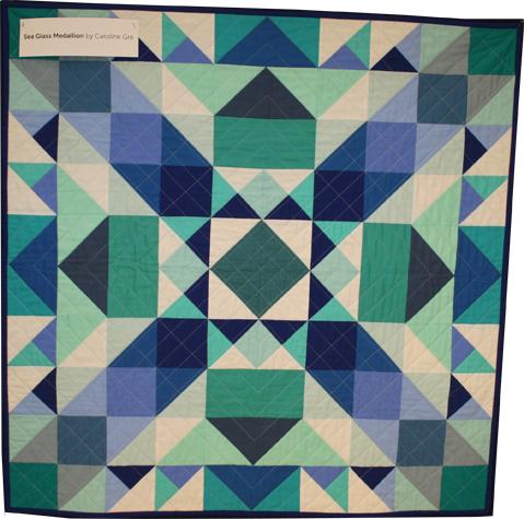 Sea Glass Medallion Quilt - Michael Miller Fabrics