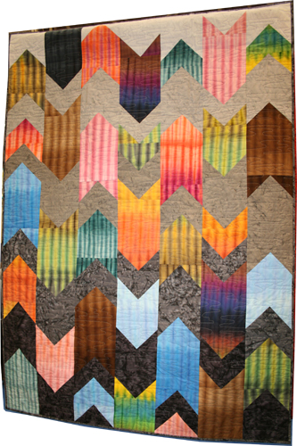 Transference Quilt in Anthology Fabrics