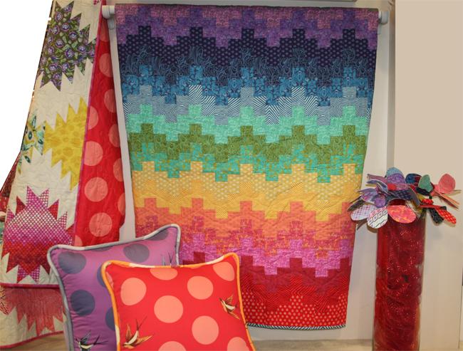 Tula Pink Eden and True Colors fabrics